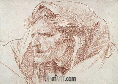 Jean-Baptiste Greuze | Head of a Man, undated