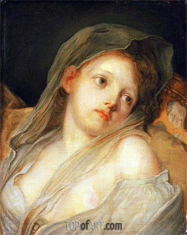 Innocence, undated | Jean-Baptiste Greuze| Painting Reproduction