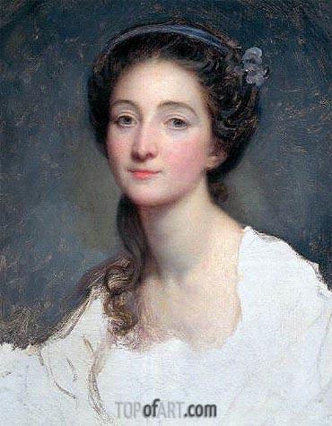 Jean-Baptiste Greuze | Sophie Arnould, c.1773