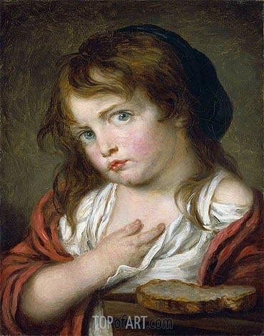 Jean-Baptiste Greuze | Little Girl Pouting, c.1775/00