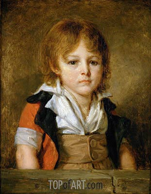 Portrait of Edouard Bertin, undated | Jean-Baptiste Greuze | Painting Reproduction