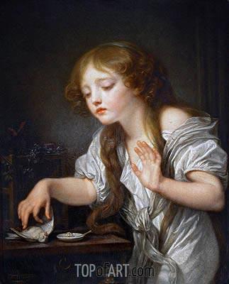 The Dead Bird, c.1800 | Jean-Baptiste Greuze | Painting Reproduction