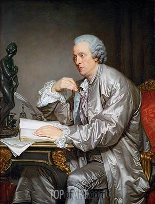 Claude Henri Watelet, c.1765  | Jean-Baptiste Greuze | Painting Reproduction