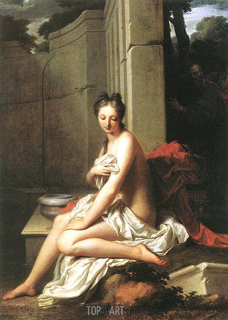 Susanna at the Bath, 1704 | Jean-Baptiste Santerre | Painting Reproduction