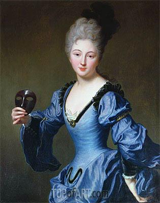 Jean-Baptiste Santerre | La Comtesse de Bersac, undated