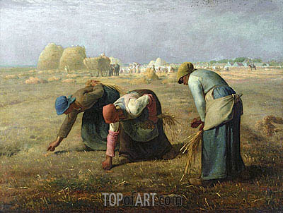 The Gleaners, 1857 | Millet | Gemälde Reproduktion