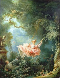 The Swing, 1767 by Fragonard | Painting Reproduction