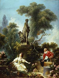 The Meeting | Fragonard | Painting Reproduction