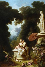 Love Letters, c.1771/73 by Fragonard | Painting Reproduction