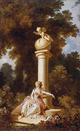 Reverie | Fragonard | Painting Reproduction