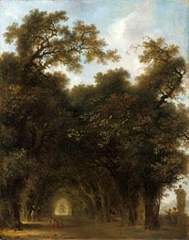 A Shaded Avenue, c.1773 by Fragonard | Painting Reproduction