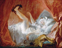 Gimblette | Fragonard | Painting Reproduction