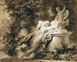 Invocation to Love, c.1781 by Fragonard | Painting Reproduction