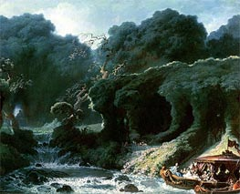 The Fete at Rambouillet (The Island of Love) | Fragonard | veraltet