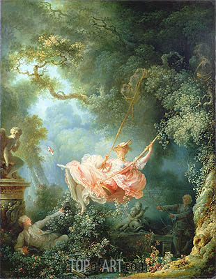 The Swing, 1767 | Fragonard| Painting Reproduction