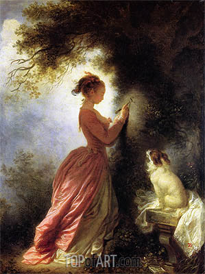 The Souvenir, c.1776/78 | Fragonard | Painting Reproduction