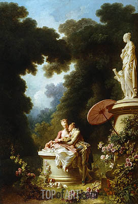 Love Letters, c.1771/73 | Fragonard| Painting Reproduction