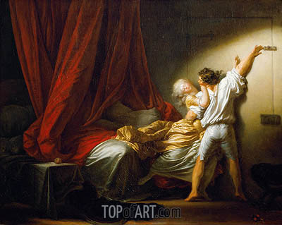 The Bolt, c.1778 | Fragonard| Gemälde Reproduktion