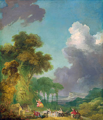 The Swing, c.1765 | Fragonard| Painting Reproduction