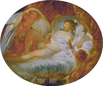 Fragonard | Le feu aux poudres, c.1765/70