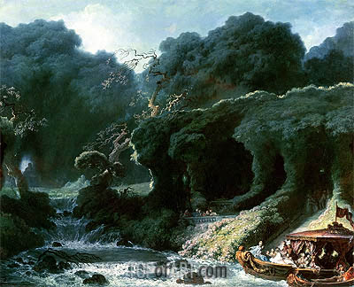 The Fete at Rambouillet (The Island of Love), c.1770 | Fragonard| Painting Reproduction