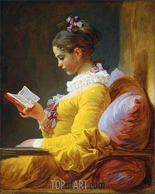 Fragonard | Young Girl Reading, c.1776
