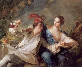 The Alliance of Love and Wine, 1744 by Jean-Marc Nattier | Painting Reproduction