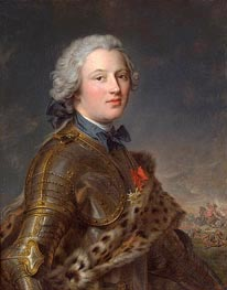 Portrait of Pierre-Victoire, Baron of Besenval, undated by Jean-Marc Nattier | Painting Reproduction