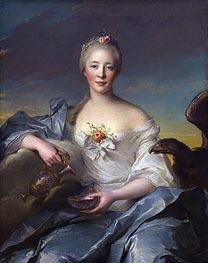 Madame de Caumartin as Hebe | Jean-Marc Nattier | Painting Reproduction