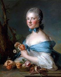 Portrait of a Woman (Marquise Perrin de Cypierre) | Jean-Marc Nattier | Gemälde Reproduktion