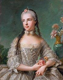 Prinzessin Maria Isabella von Parma, Gemahlin von Joseph II | Jean-Marc Nattier | Gemälde Reproduktion
