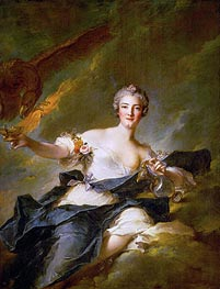 The Duchess of Chaulnes as Hebe | Jean-Marc Nattier | Gemälde Reproduktion
