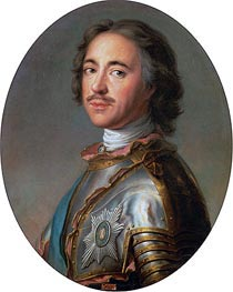 Czar Peter the Great | Jean-Marc Nattier | Gemälde Reproduktion