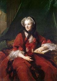 Portrait of Madame Maria Leszczynska | Jean-Marc Nattier | Gemälde Reproduktion