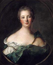 Jeanne-Antoinette Poisson, Marquise de Pompadour | Jean-Marc Nattier | Gemälde Reproduktion