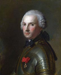 Portrait of a Man in Armour | Jean-Marc Nattier | Gemälde Reproduktion