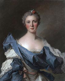 Portrait of the Comtesse d'Andlau | Jean-Marc Nattier | Gemälde Reproduktion