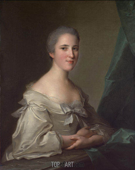 Jean-Marc Nattier | Portrait of Elizabeth Countess of Warwick, 1754