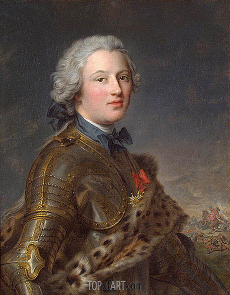 Jean-Marc Nattier | Portrait of Pierre-Victoire, Baron of Besenval, undated