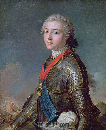 Louis Jean Marie de Bourbon Duke of Penthievre, 1743 | Jean-Marc Nattier| Painting Reproduction