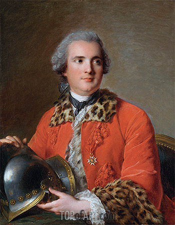 Jean-Marc Nattier | Jean Victor de Rochechouart de Mortemart, 1756