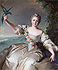 Portrait of the Marquise d'Antin | Jean-Marc Nattier