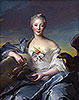Madame de Caumartin as Hebe | Jean-Marc Nattier