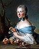 Portrait of a Woman (Marquise Perrin de Cypierre) | Jean-Marc Nattier