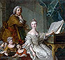 Jean-Marc Nattier and his Family | Jean-Marc Nattier