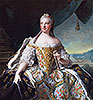 Marie-Josephe of Saxony, Dauphine of France (Madame de France) | Jean-Marc Nattier