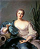 Madame Marie-Henriette Berthelot de Pleneuf | Jean-Marc Nattier