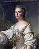 Louise-Henriette-Gabrielle de Lorraine Princess of Turenne and Duchess of Bouillon | Jean-Marc Nattier