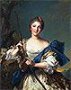 Mademoiselle de Migieu as Diana | Jean-Marc Nattier