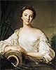 Louise Henriette de Bourbon-Conti, Later Duchesse d'Orléans | Jean-Marc Nattier